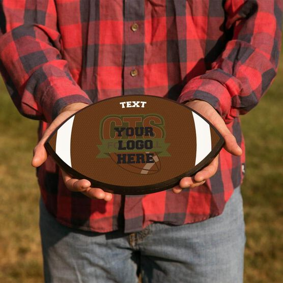 Football Plaque - Custom Logo