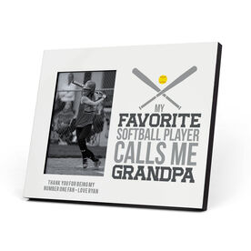 Softball Photo Frame - Grandpa