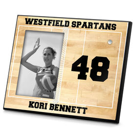 Volleyball Photo Frame Volleyball Court Personalized