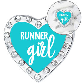Running Shoelace Charm - Runner Girl