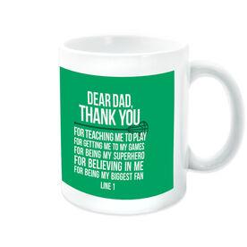 Lacrosse Coffee Mug Dear Dad
