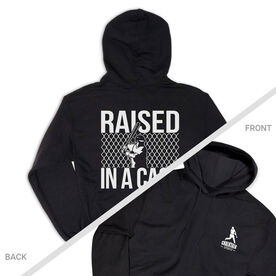 Baseball Hooded Sweatshirt - Raised In a Cage (Logo Collection)