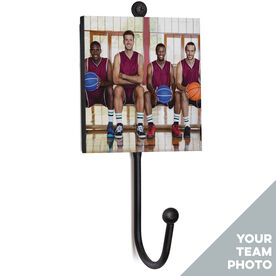 Basketball Medal Hook - Your Team Photo