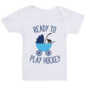 Hockey Baby T-Shirt - Ready To Play Hockey