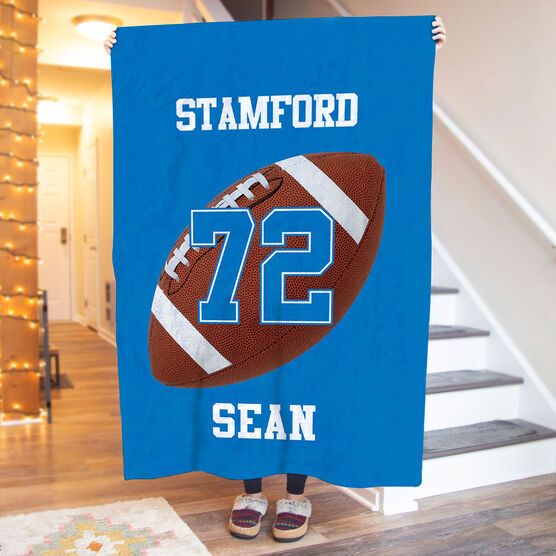 Football Premium Blanket - Personalized Team