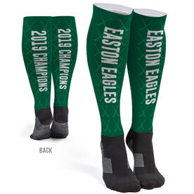 Field Hockey Printed Knee-High Socks - Team Name