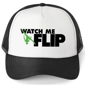 Gymnastics Trucker Hat Watch Me Flip