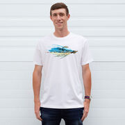 Clouser Fly - Short Sleeve Cotton Tee by Fly Knot