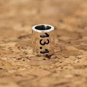Sterling Silver 13.1 Half Marathon Large Hole Bead
