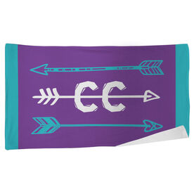 Cross Country Beach Towel Arrows