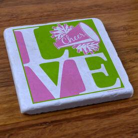 Love Cheerleading - Stone Coaster