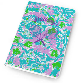 Tennis Notebook Flower Power