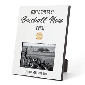 Baseball Photo Frame - You're The Best Mom Ever