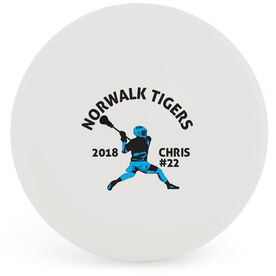 Personalized Printed Lacrosse Ball Guys Team Silhouette