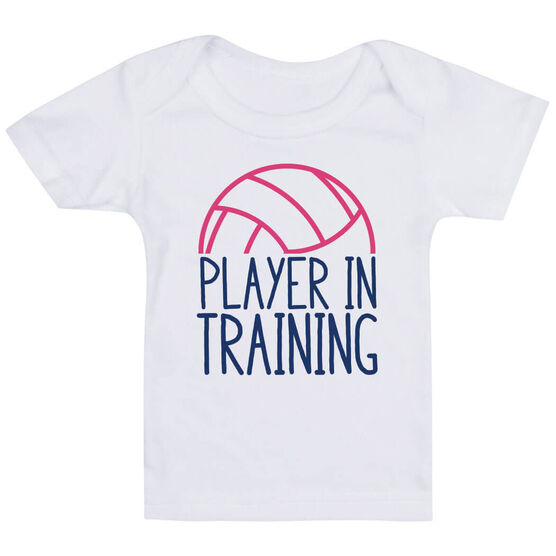 Volleyball Baby T-Shirt - Player In Training