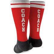 Printed Mid-Calf Socks - Coach