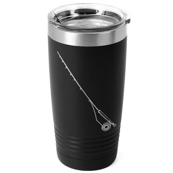 Fly Fishing 20 oz. Double Insulated Tumbler - Rod