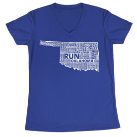 Women's Running Short Sleeve Tech Tee Oklahoma State Runner