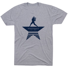Softball T-Shirt Short Sleeve - Make History
