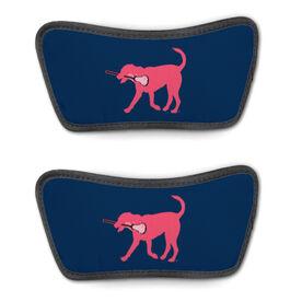 Girls Lacrosse Repwell® Sandal Straps - Lula the Lax Dog