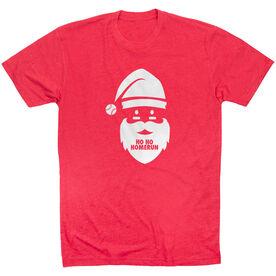 Baseball Short Sleeve T-Shirt - Ho Ho Homerun