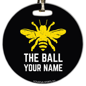 Golf Circle Bag/Luggage Tag Bee The Ball