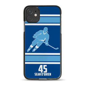 Hockey iPhone® Case - Personalized Rink Turn
