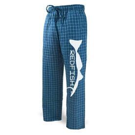 Fly Fishing Lounge Pants Redfish Silhouette