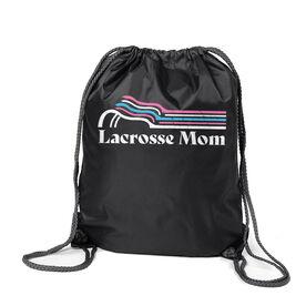 Lacrosse Sport Pack Cinch Sack - Lacrosse Mom Sticks