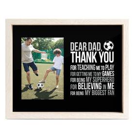 Soccer Premier Frame - Dear Dad