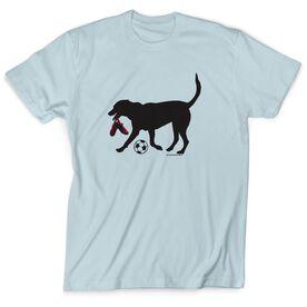 Soccer Tshirt Short Sleeve Sammy the Soccer Dog