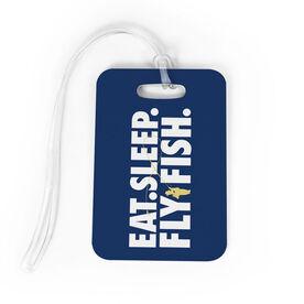 Fly Fishing Bag/Luggage Tag - Eat Sleep Fly Fishing