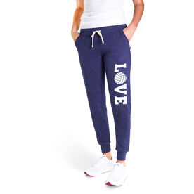 Volleyball Women's Joggers - Volleyball Love
