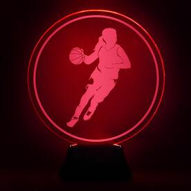 Basketball Acrylic LED Lamp B-ball Girl