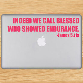 Indeed We Call Blessed Removable GoneForaRunGraphix Laptop Decal