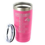 Cheerleading 20 oz. Double Insulated Tumbler - Cheerleading Father Words