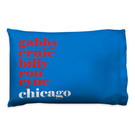 Baseball Pillowcase - Mantra Chicago