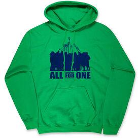 Guys Lacrosse Hooded Sweatshirt - All for One