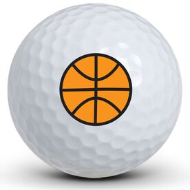 Basketball Logo Golf Balls