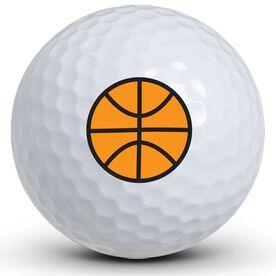 Basketball Logo Golf Balls