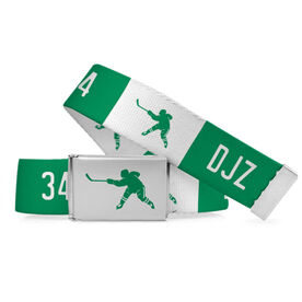 Hockey Lifestyle Belt Personalized Slapshot Belt