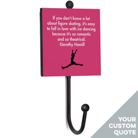 Figure Skating Medal Hook - Your Female Quote