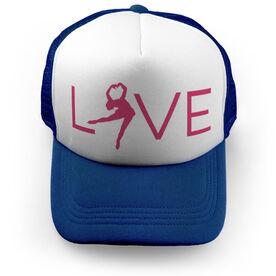 Figure Skating Trucker Hat - Love