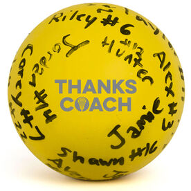 Girls Lacrosse Ball - Thanks Coach Autograph