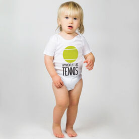 Tennis Baby One-Piece - Apparently, I Like Tennis