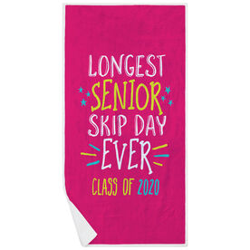 Premium Beach Towel - Longest Senior Skip Day Ever Class Of 2020