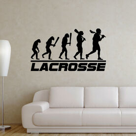 Guys Lacrosse Removable ChalkTalkGraphix Wall Decal - Evolution