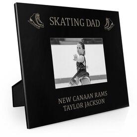 Figure Skating Engraved Picture Frame - Skating Dad