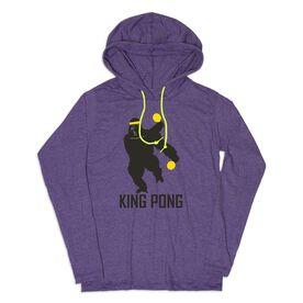 Women's Ping Pong Lightweight Hoodie - King Pong