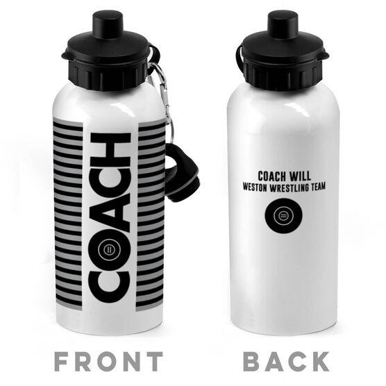 Wrestling 20 oz. Stainless Steel Water Bottle - Coach